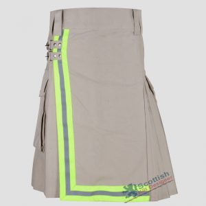 scottish-khaki-kilt-with-green-reflector-1