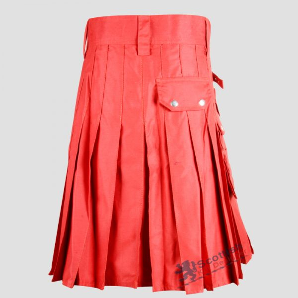scottish-red-cotton-utility-kilt-1
