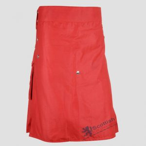 scottish-red-cotton-utility-kilt-2