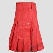 scottish-red-cotton-utility-kilt-3