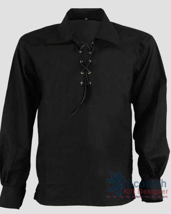 Black Jacobite Shirt