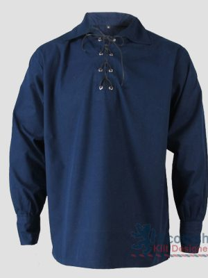 Blue Jacobite Shirt