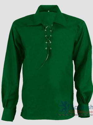 Jacobite Kilt Shirt Green