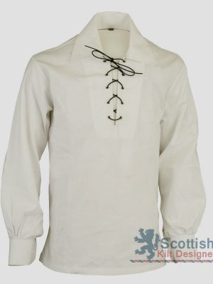 Jacobite White Shirt