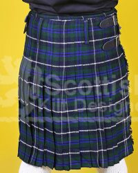 Scottish Blue Tartan Kilt for Men