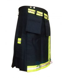 Parrot Green Fire Fighter Men Kilt