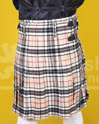 Scottish Tartan Cotton Kilt for sale