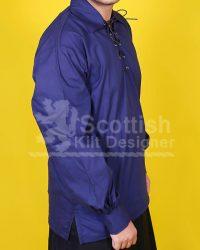 Men Blue Jacobite shirt